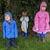 Family Biking: Bikes and kids and rain, oh my!