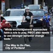 Portland has a new plan to persuade you to stop driving so much